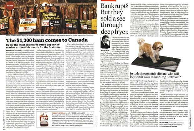 Article Preview: Bankrupt? But they sold a seethrough deep fryer., MAR. 17th 2008 2008 | Maclean's