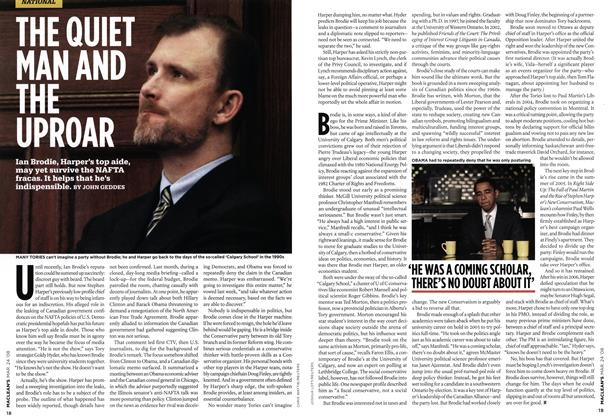 Article Preview: THE QUIET MAN AND THE UPROAR, MAR. 24th 2008 2008 | Maclean's