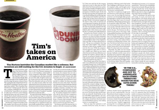 Article Preview: Tim's takes on America, MAR. 24th 2008 2008 | Maclean's