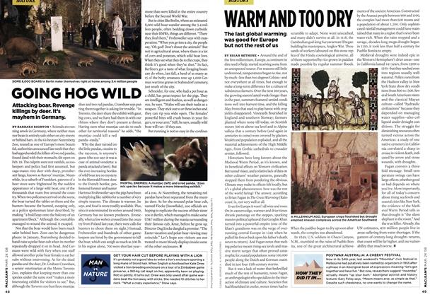 Article Preview: WARN AND TOO DRY, MAR. 24th 2008 2008 | Maclean's