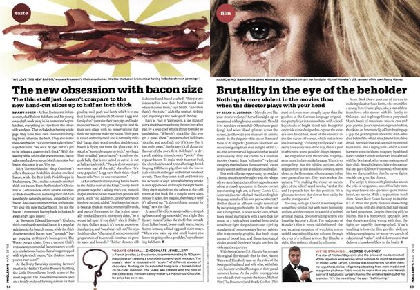 Article Preview: Brutality in the eye of the beholder, MAR. 24th 2008 2008 | Maclean's