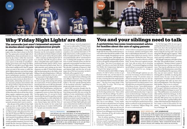 Article Preview: Why 'Friday Night Lights' are dim, MAR. 24th 2008 2008 | Maclean's