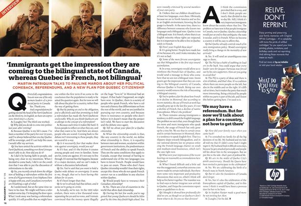 Article Preview: INTERVIEW, MAR. 31st 2008 2008 | Maclean's