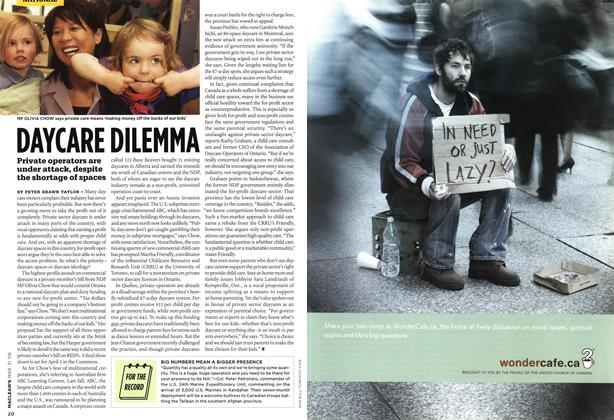 Article Preview: DAYCARE DILEMMA, MAR. 31st 2008 2008 | Maclean's