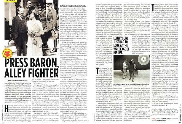 Article Preview: PRESS BARON, ALLEY FIGHTER, MAR. 31st 2008 2008 | Maclean's