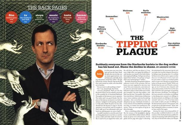 Article Preview: THE TIPPING PLAGUE, MAR. 31st 2008 2008 | Maclean's