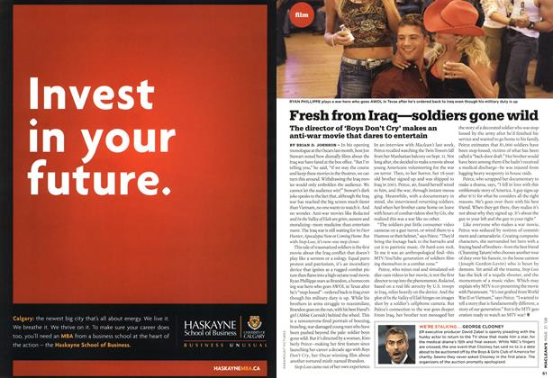 Article Preview: Fresh from Iraq—soldiers gone wild, MAR. 31st 2008 2008 | Maclean's