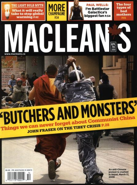 Issue: - APR. 7th 2008 | Maclean's