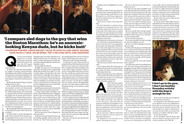 Article Preview: INTERVIEW, APR. 7th 2008 2008 | Maclean's