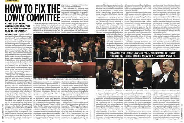Article Preview: HOW TO FIX THE LOWLY COMMITTEE, APR. 7th 2008 2008 | Maclean's