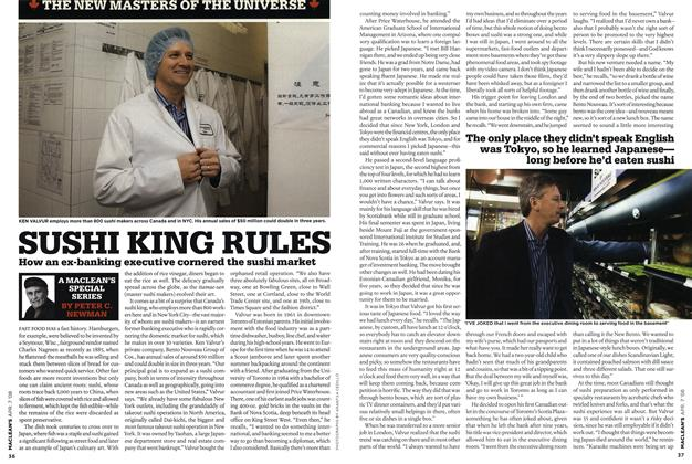 Article Preview: SUSHI KING RULES, APR. 7th 2008 2008 | Maclean's