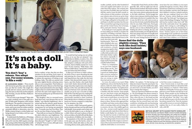Article Preview: It's not a doll. It's a baby., APR. 7th 2008 2008 | Maclean's