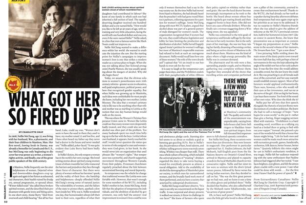 Article Preview: WHAT GOT HER SO FIRED UP?, APR. 7th 2008 2008 | Maclean's