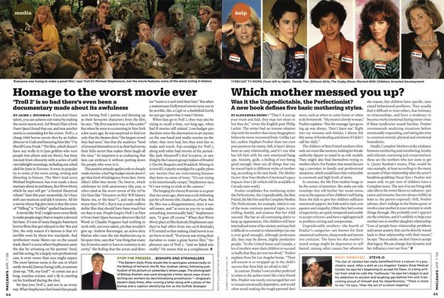 Article Preview: Which mother messed you up?, APR. 7th 2008 2008 | Maclean's
