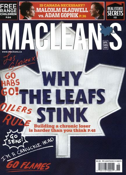 Issue: - APR. 14th 2008 | Maclean's