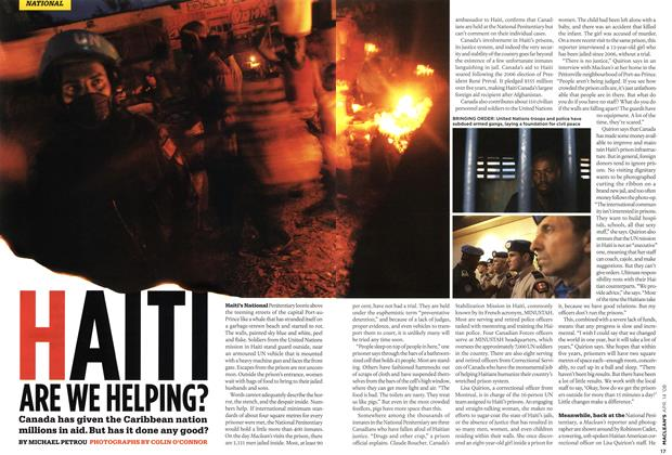 Article Preview: HAITI ARE WE HELPING?, APR. 14th 2008 2008 | Maclean's