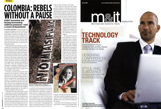 Article Preview: COLOMBIA: REBELS WITHOUT A PAUSE, APR. 14th 2008 2008 | Maclean's