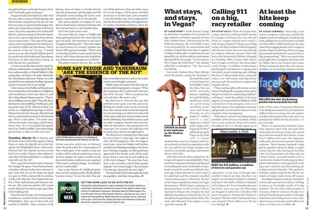 Article Preview: Calling 911 on a big, racy retailer, APR. 14th 2008 2008 | Maclean's