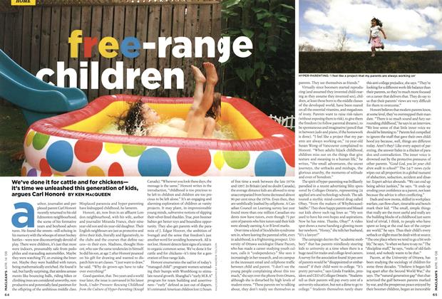 Article Preview: free-range children, APR. 14th 2008 2008 | Maclean's