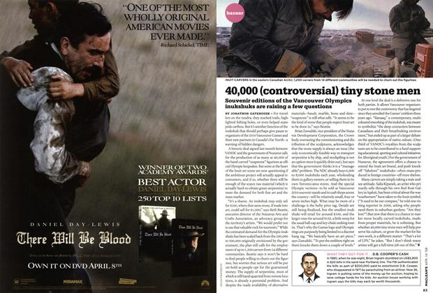 Article Preview: 40,000 (controversial) tiny stone men, APR. 14th 2008 2008 | Maclean's