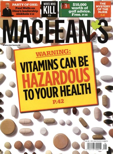 Issue: - APR. 21st 2008 | Maclean's