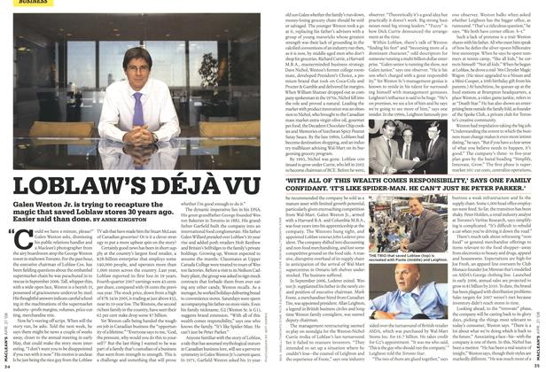 Article Preview: LOBLAW'S DÉJÀ VU, APR. 21st 2008 2008 | Maclean's