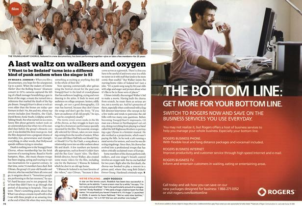 Article Preview: A last waltz on walkers and oxygen, APR. 21st 2008 2008 | Maclean's