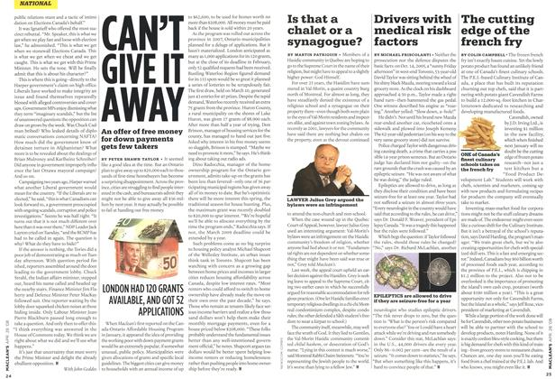 Article Preview: Drivers with medical risk factors, APR. 28th 2008 2008 | Maclean's