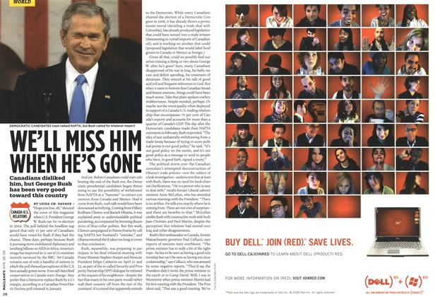 Article Preview: WE'LL MISS HIM WHEN HE'S GONE, APR. 28th 2008 2008 | Maclean's