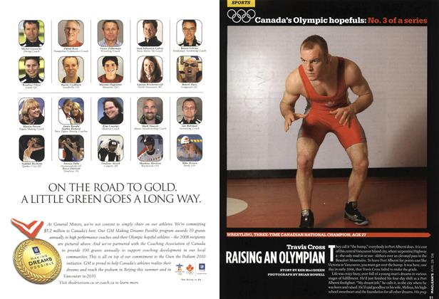 Article Preview: Travis Cross RAISING AN OLYMPIAN, APR. 28th 2008 2008 | Maclean's