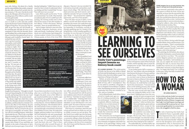 Article Preview: LEARNING TO SEE OURSELVES, APR. 28th 2008 2008 | Maclean's