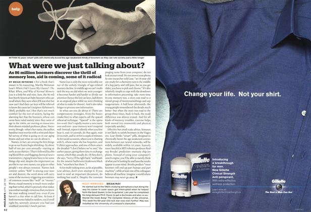 Article Preview: What were we just talking about?, APR. 28th 2008 2008   Maclean's