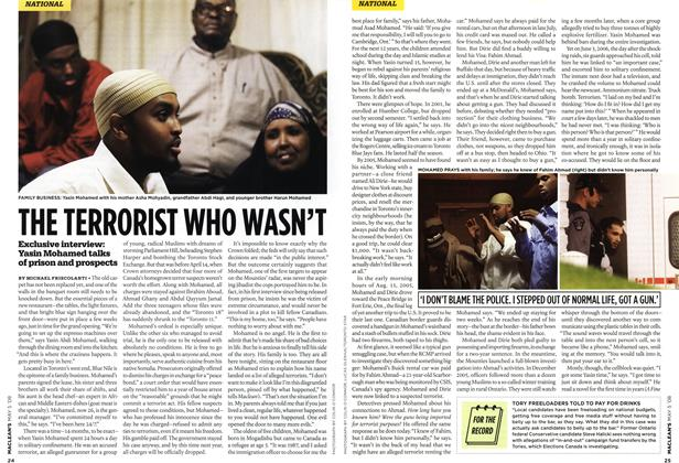 Article Preview: THE TERRORIST WHO WASN'T, MAY 5th 2008 2008 | Maclean's