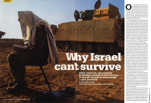 Article Preview: Why Israel can't survive, MAY 5th 2008 2008 | Maclean's
