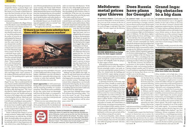 Article Preview: Does Russia have plans for Georgia?, MAY 5th 2008 2008 | Maclean's