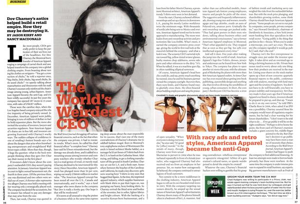 Article Preview: The World's Weirdest CEO, MAY 5th 2008 2008 | Maclean's