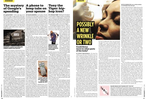 Article Preview: A phone to keep tabs on your spouse, MAY 5th 2008 2008 | Maclean's