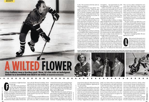 Article Preview: A WILTED FLOWER, MAY 5th 2008 2008 | Maclean's