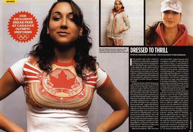Article Preview: DRESSED TO THRILL, MAY 5th 2008 2008 | Maclean's