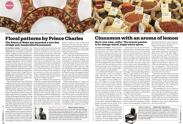 Article Preview: Floral patterns by Prince Charles, MAY 5th 2008 2008 | Maclean's
