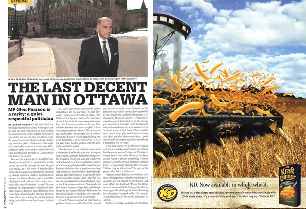 Article Preview: THE LAST DECENT MAN IN OTTAWA, MAY 12th 2008 2008 | Maclean's