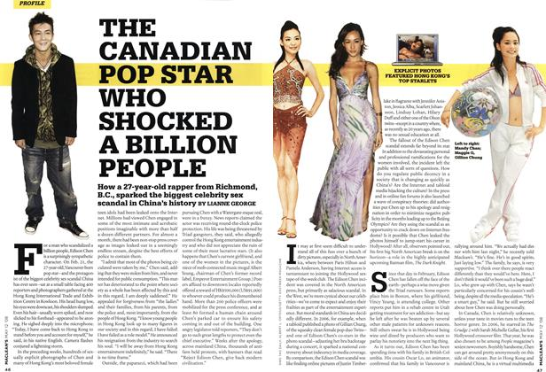 Article Preview: THE CANADIAN POP STAR WHO SHOCKED A BILLION PEOPLE, MAY 12th 2008 2008 | Maclean's