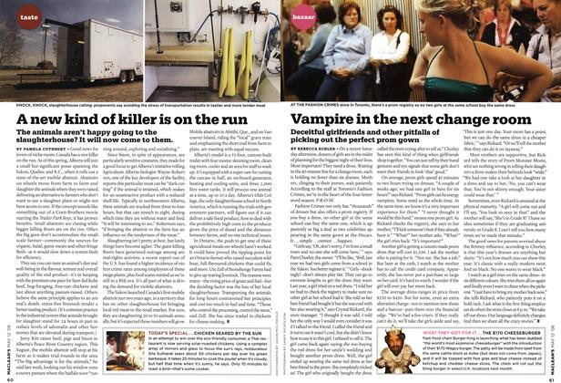 Article Preview: Vampire in the next change room, MAY 12th 2008 2008 | Maclean's