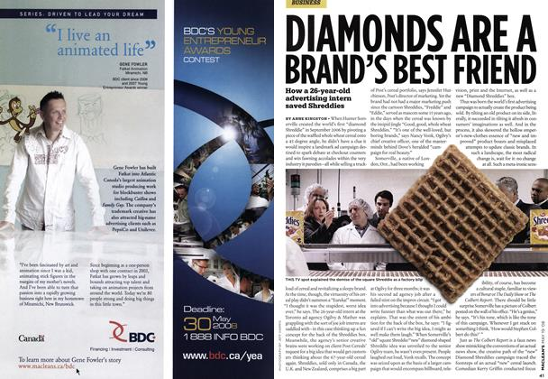 Article Preview: DIAMONDS ARE A BRAND'S BEST FRIEND, MAY. 19th 2008 2008 | Maclean's