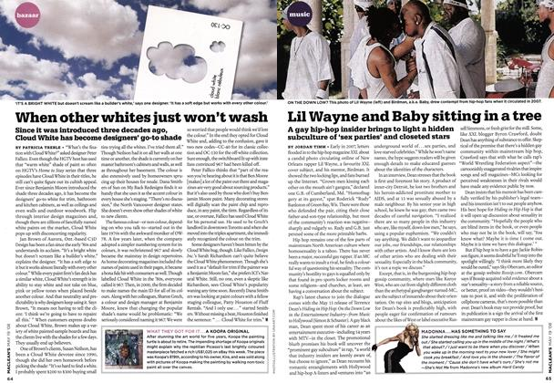 Article Preview: When other whites just won't wash, MAY. 19th 2008 2008 | Maclean's