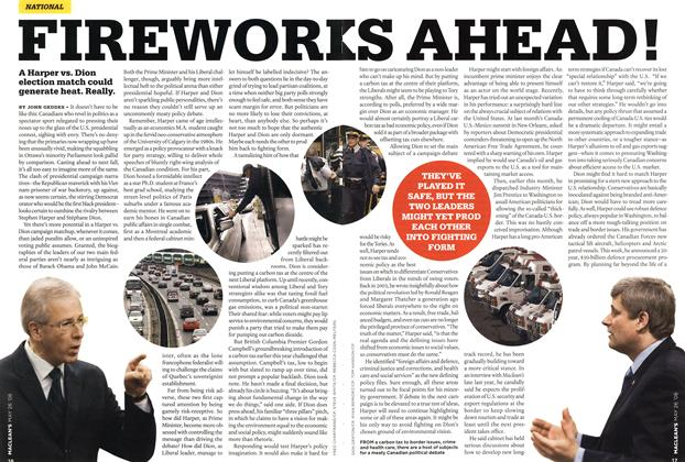 Article Preview: FIREWOR KS AHEAD !, MAY 26th 2008 2008 | Maclean's