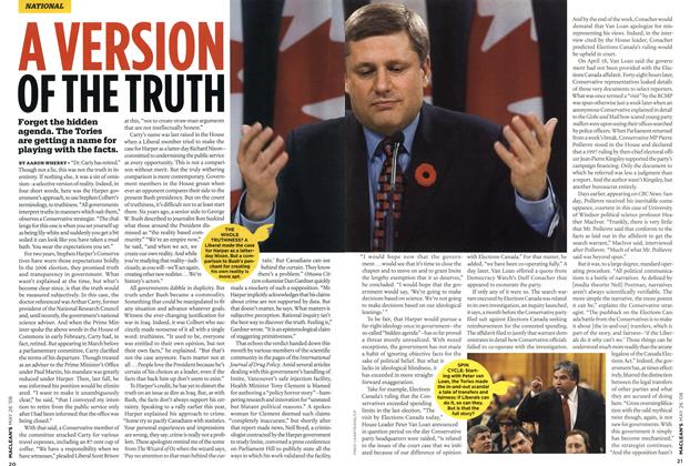 Article Preview: A VERSION OF THE TRUTH, MAY 26th 2008 2008 | Maclean's