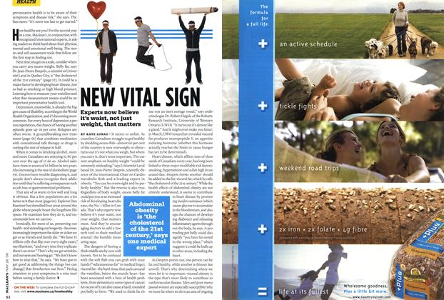 Article Preview: NEW VITAL SIGN, MAY 26th 2008 2008 | Maclean's