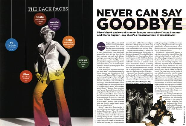 Article Preview: NEVER CAN SAY GOODBYE, MAY 26th 2008 2008 | Maclean's