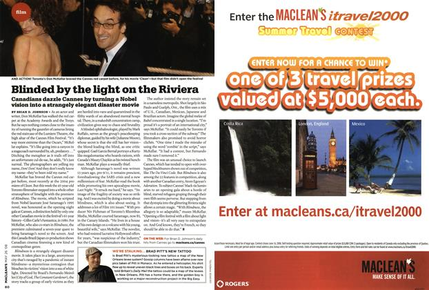 Article Preview: Blinded by the light on the Riviera, MAY 26th 2008 2008 | Maclean's
